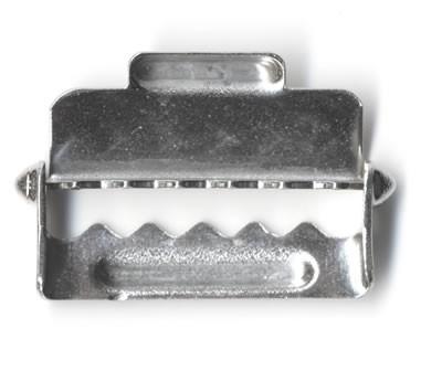 Einstellschlaufe für Hosenträger. 20 mm breit.