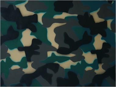 Strukturlatex: Camouflage - 80 x 50 cm