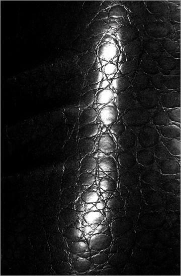 Strukturlatex: Croco schwarz - 80 x 50 cm