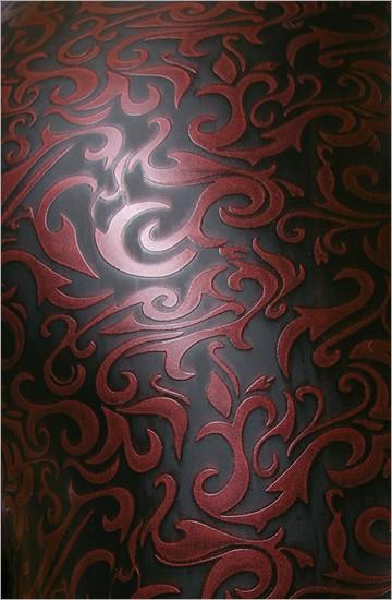 Strukturlatex: Damast lila - 80 x 100 cm