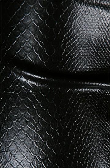 Strukturlatex: Schlangenhaut 2 schwarz - 80 x 100 cm