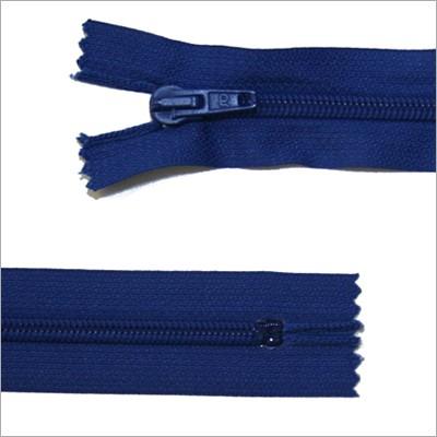 Standard Kunststoff Reißverschluss, blau, 30 cm