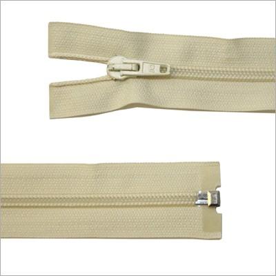 Kunststoff-Reißverschluss, teilbar, beige, 65 cm