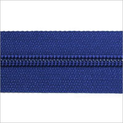 Reißverschluss-Meterware - blau