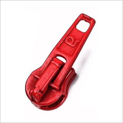 Reißverschluss-Automatikschieber rot