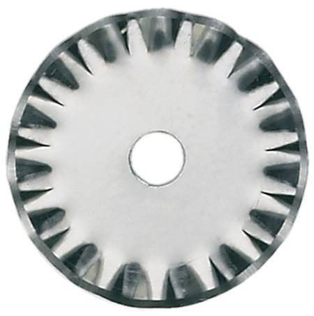 Klinge für Rollcutter: 28 mm Wellenschnitt