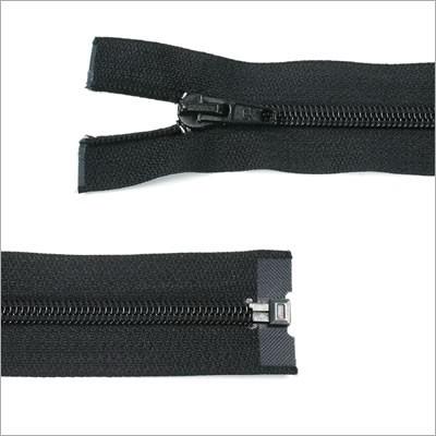Kunststoff-Reißverschluss, teilbar, schwarz, 65 cm