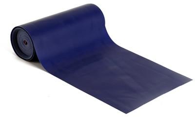 Latex-Fitnessband, 550 cm - Blau, für mittelschwere bis schwere Übungen