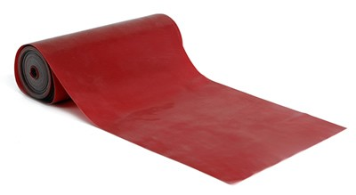 Latex-Fitnessband, 550 cm  - Rot, für leichte bis mittlere Übungen
