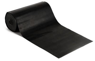 Latex-Fitnessband, 150 cm - Schwarz, für schwere Übungen