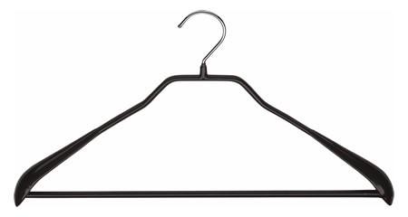 Metallkleiderbügel mit Steg
