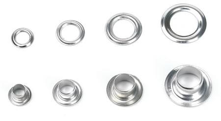 Öse mit Ring, 6 mm