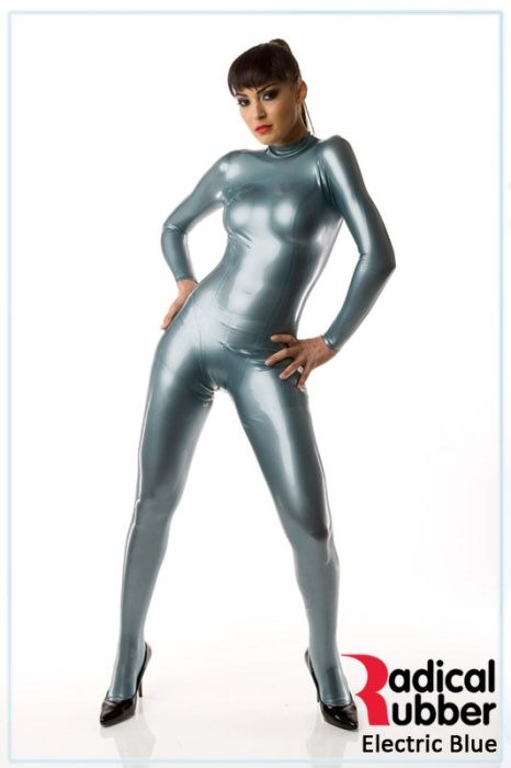 Latexmeterware Electric Blue 0,40 mm - RadicalRubber