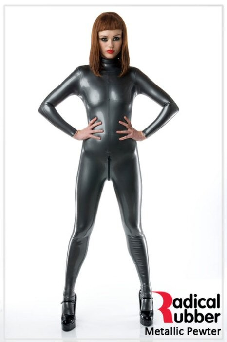 Latexmeterware Metallic Dunkelgrau 0,40 mm - RadicalRubber