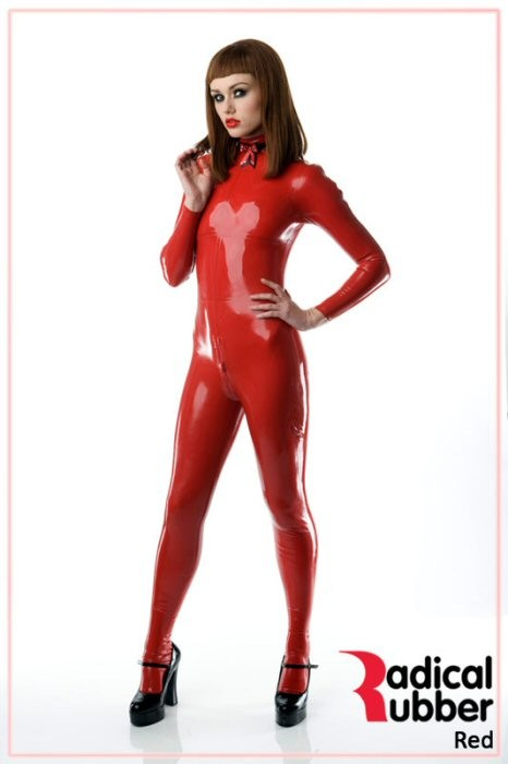Latexmeterware Rot 0,40 mm - RadicalRubber