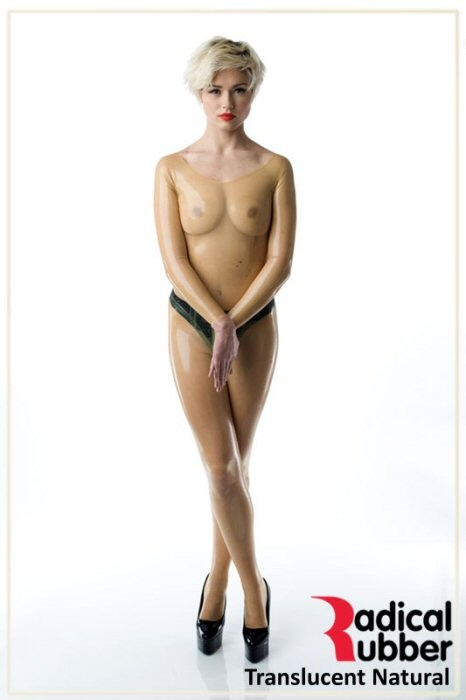 Latexmeterware Transparent 0,25 mm - RadicalRubber
