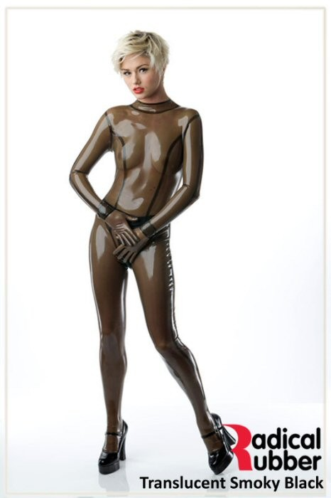 Latexmeterware Rauchgrau Transparent 0,40 mm - RadicalRubber