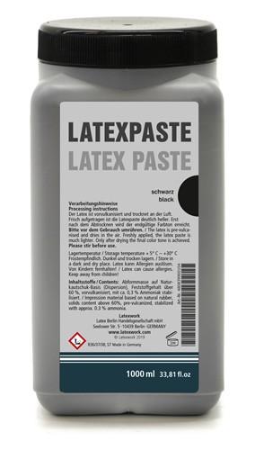 Latexpaste - Schwarz