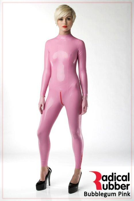 Latexmeterware Bubblegum Pink 0,40 mm - RadicalRubber