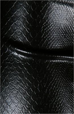 Strukturlatex: Schlangenhaut 2 schwarz - 40 x 100 cm