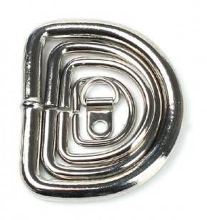 D-Ring, 10 mm, zum Nieten