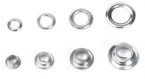 Öse mit Ring, 8 mm, abschliessbar