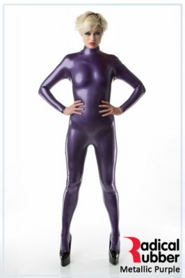 Latexmeterware Metallic Lila 0,40 mm - RadicalRubber
