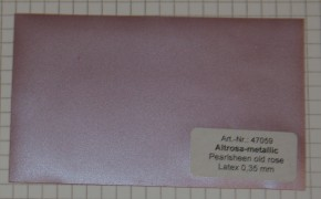 Latex Meterware Metallic Altrosa, 92 cm breit, 0,35 mm